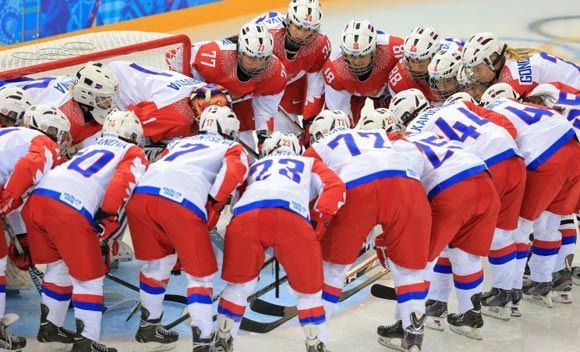 Женская сборная РФ по хоккею проиграла команде Финляндии
