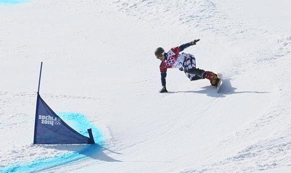 Сноубордист Вик Уайлд принес России золотую медаль в параллельном гигантском слаломе