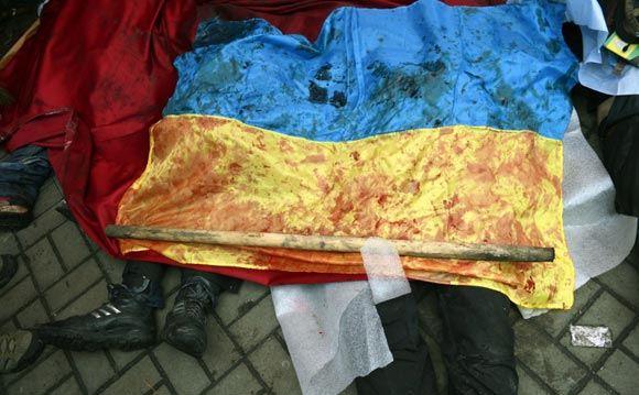 Мэрия Киева сообщает о 67 погибших в результате беспорядков