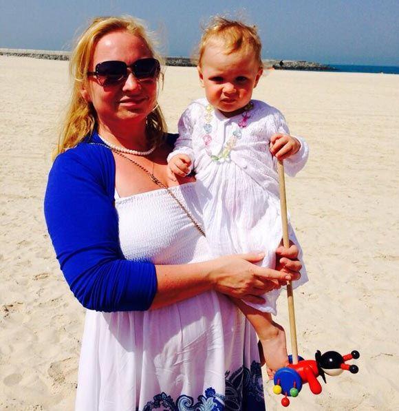 Светлана Пермякова и ее дочка не испугались жары