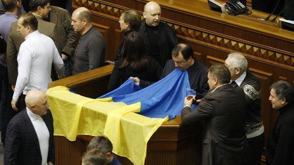 Украинские депутаты проголосовали за амнистию для всех активистов