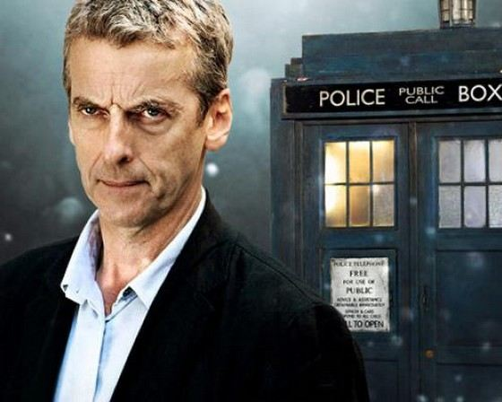Actor Peter Capaldi - star of the show Doctor Who