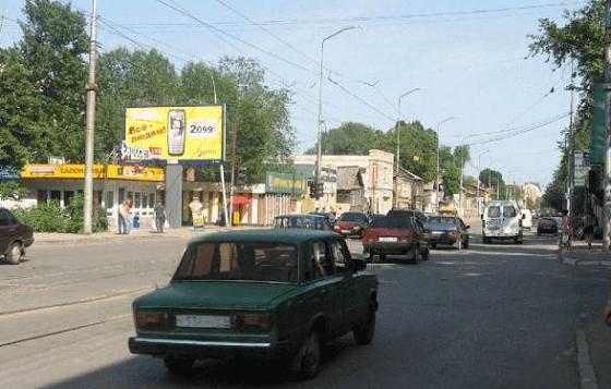 Город Саратов, улица Кутякова