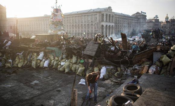 Центр Киева взят под контроль отрядами «народной самообороны»