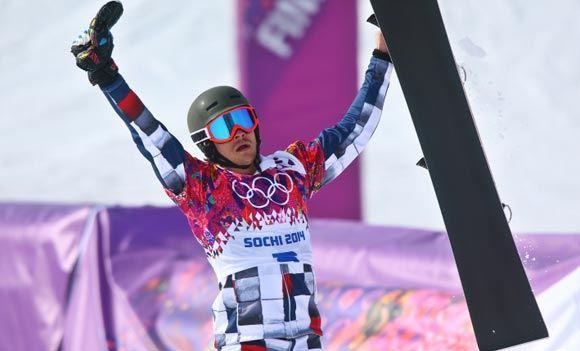 Сноубордист Вик Уайлд принес российской сборной десятое «золото»