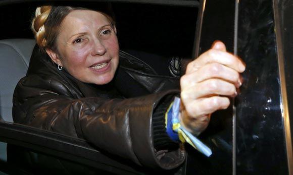 Парламент Украины не рассматривает кандидатуру Юлии Тимошенко на премьерский пост