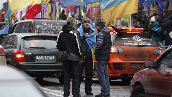 Автомайдан обещает контролировать представителей новых властей Украины