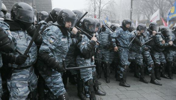 На Украине расформировали спецподразделение «Беркут»