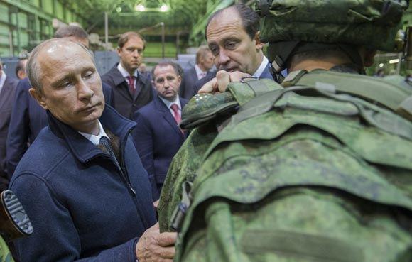 Путин провел внеплановую проверку в войсках