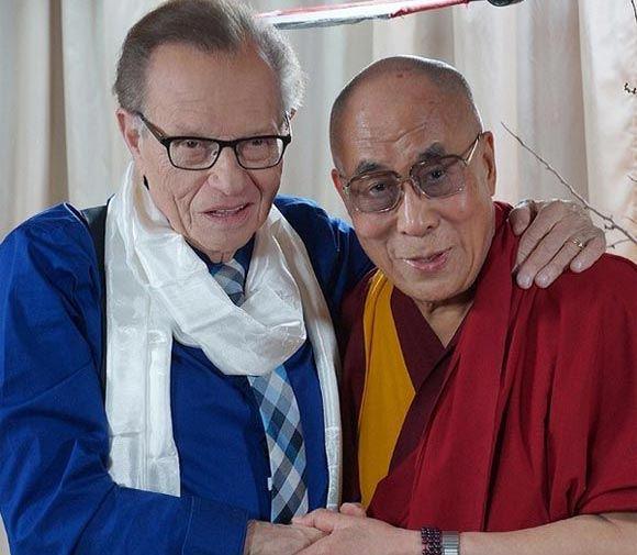 Далай-лама и Ларри Кинг