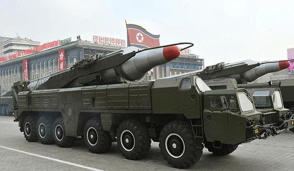 КНДР произвела учебный пуск четырех ракет