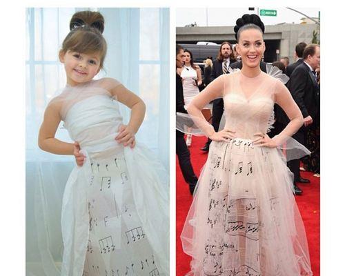 Четырехлетняя девочка стала модельером