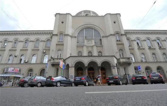 Здание Московского почтамта в этом году отмечает 100-летие