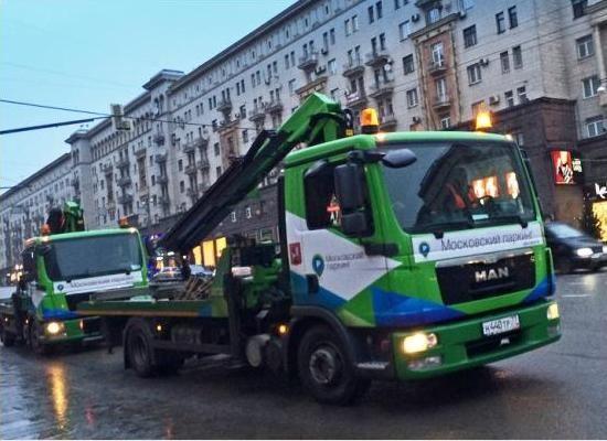 В Москве появится служба новых эвакуаторов
