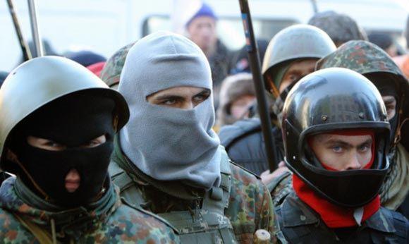Украинское движение «Правый сектор» объявило всеобщую мобилизацию