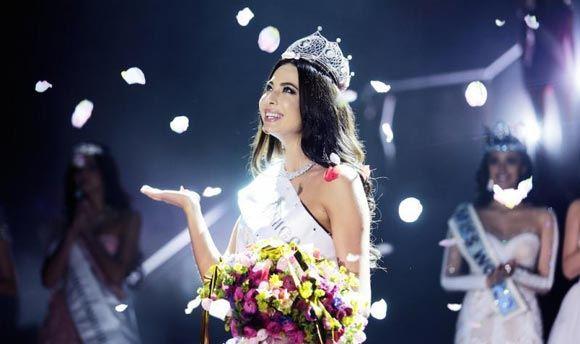 23-летняя Юлия Алипова победила на конкурсе «Мисс Россия»