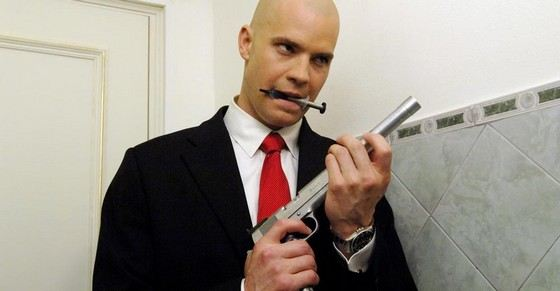 Timothy Olyphant in the movie Hitman