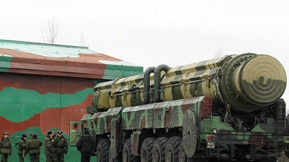 Российская баллистическая ракета успешно поразила цель