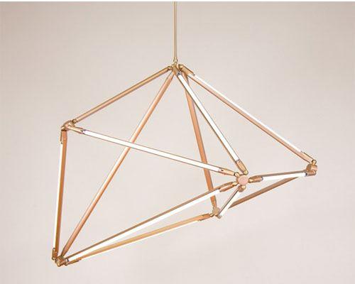 Дизайнер Бек Бриттан представила светодиодную люстру
