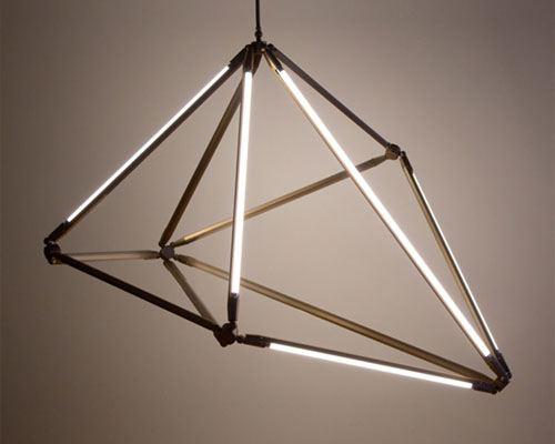 Бек Бриттан представила оригинальную светодиодную люстру
