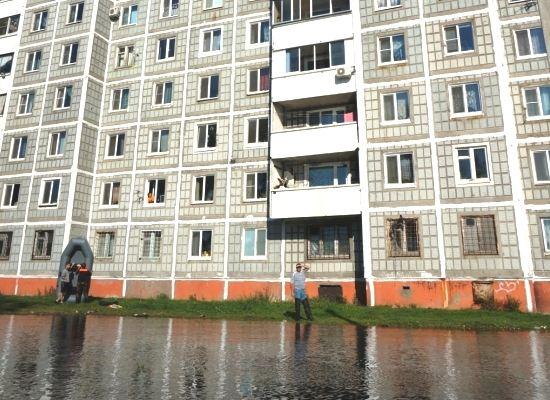 В Комсомольске-на-Амуре идет ремонт пострадавших от паводка домов