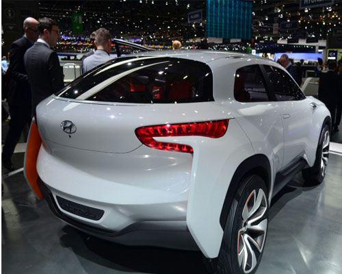 Hyundai представила в Женеве автомобиль будущего
