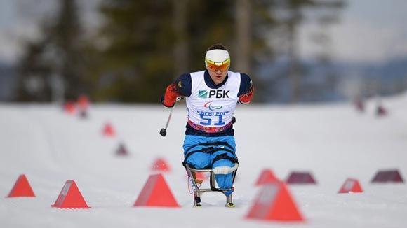 Биатлонист российской паралимпийской сборной завоевал «золото»