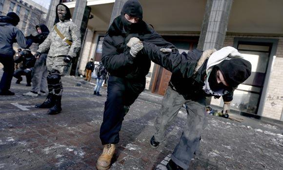 МИД РФ возмутился происходящим в восточной Украине