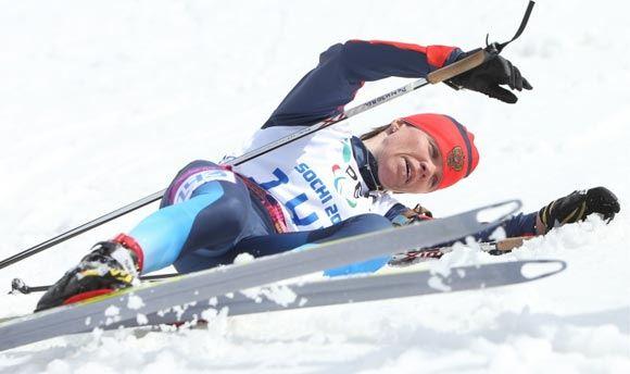 Елена Ремизова взяла золотую медаль Паралимпиады