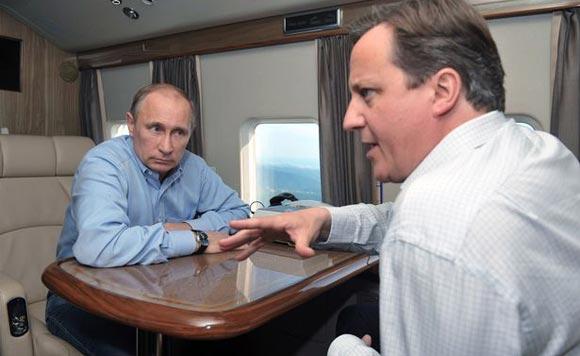 Дэвид Кэмерон заявил, что Россию могут исключить из G8