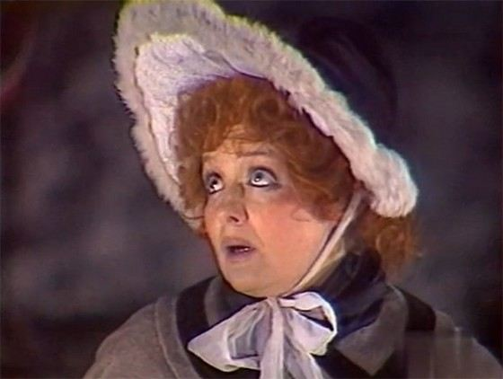 Most of the roles of the actress Olga Antonova played in the theater