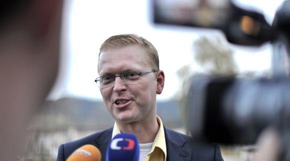 Чешский вице-премьер устроил ДТП в центре Праги