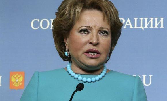 Валентина Матвиенко не боится санкций Запада