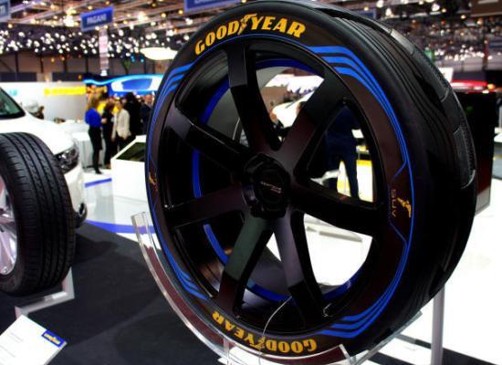 В Женеве Goodyear показал концептуальную шину для SUV