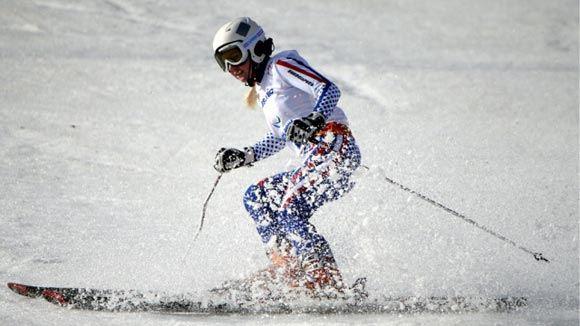 Александра Францева победила в слаломе на Паралимпиаде в Сочи