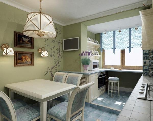 В столовой и кухне уместны натюрморты