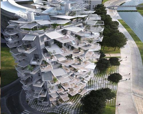 Во Франции построят дом, напоминающий дерево