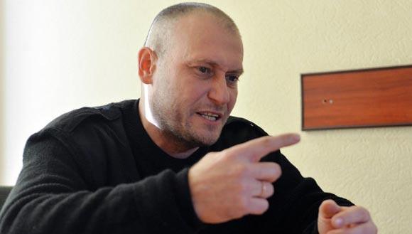 Дмитрий Ярош призывает провести на Украине всеобщую мобилизацию
