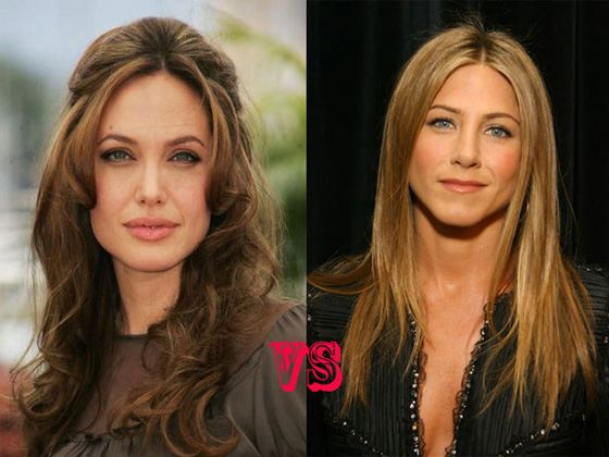 Jolie and Aniston - Brad Pitt's beloved