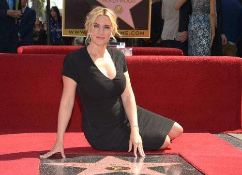 Кейт Уинслет удостоилась звезды на Алее славы