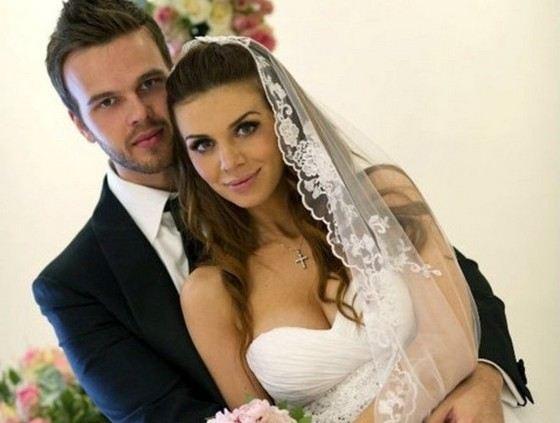 Maxim Chernyavsky with ex-wife Anna Sedokova