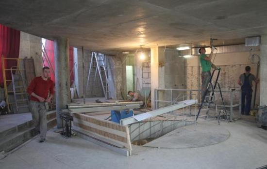 В помещении будущего ресторана Высоцкой заканчивают ремонт