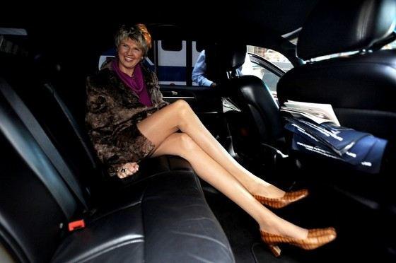 Светлана Панкратова - женщина с самыми длинными в мире ногами