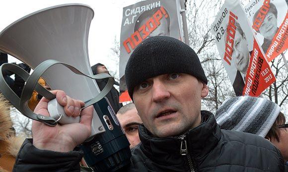 Сергея Удальцова доставили в суд, несмотря на сильные боли