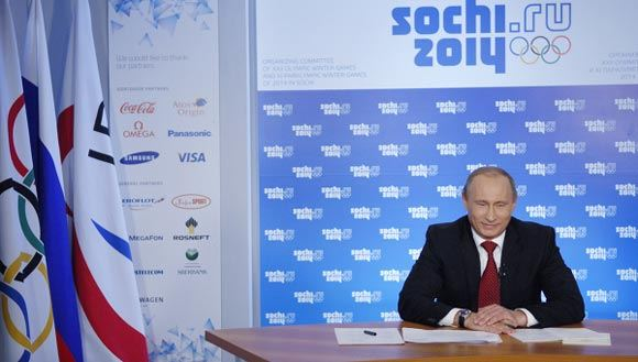 Путин наградил организаторов Олимпиады в Сочи