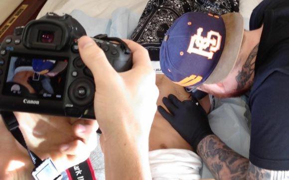 Джастин Бибер рассчитывает попасть в Книгу рекордов Гиннеса за свои татуировки