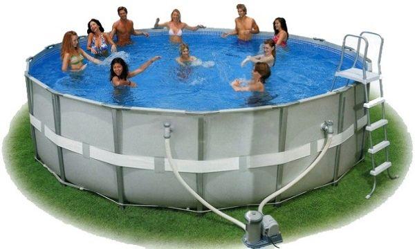 Самый популярный бассейн Intex