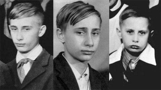 Владимир Владимирович Путин в молодости