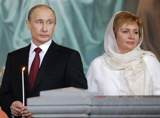 Владимир Путин развелся с женой Людмилой в 2013 году