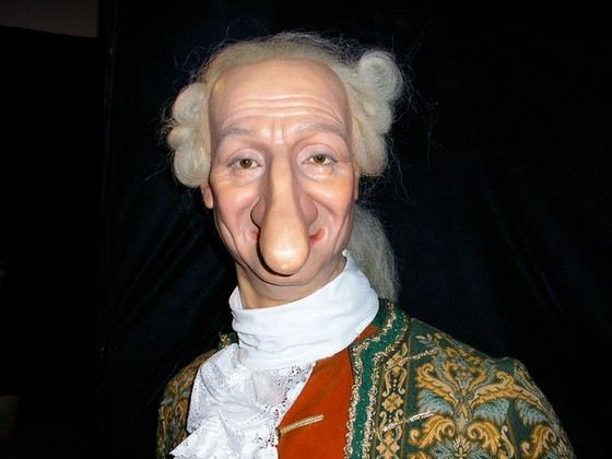 нос длинный фото